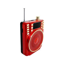 Bocina Usb Megáfono Portatil Altavoz Recargable Sd Fm Radio