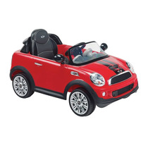Montable Eléctrico Prinsel Mini Cooper S Coupe Rojo 6 Volts