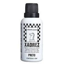 Corante Xadrex Preto50ml(p/tintas Base Água)(2 Unidades)