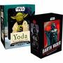 Kit Bonecos Darth Vader E Mestre Yoda 2 Estatuetas Lacradas