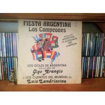 Fiesta Argentina Luis Landriscina Yiyo Arangio Vinilo 1978