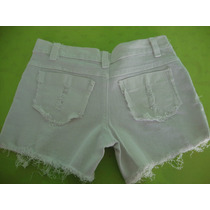 Short Jeans Curto Desfiado