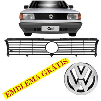 Grade Radiador Preta C/ Emblema Gol 91 92 93 94