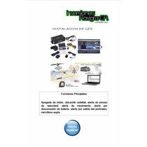 Gps Tracker + Instalacion + Plataforma (incluye Sim)