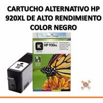 Cartucho Alternativo Hp 920xl Negro Para Oj 6000 6500 7500