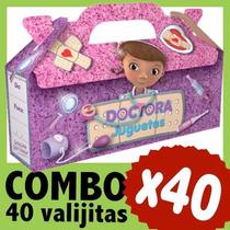Doctora Juguetes Bolsita Cajita Valijita Souvenir Combo X 40