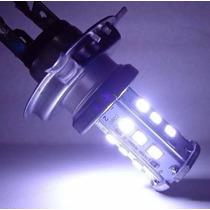 Lâmpada De Farol Moto Led H4 35/35w Ybr Fazer Cbx Cb 300 Xj6