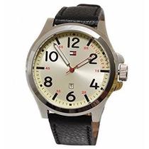 Relógio Tommy Masculino 170935 Pulseira Couro - Frete Grátis