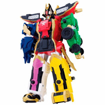 Boneco Power Ranger Super Megaforce - Lendário Megazord 30cm