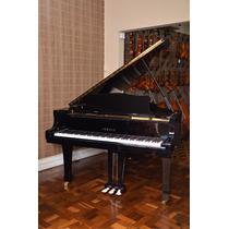 Piano Acústico 1/2 Cauda 186cm G3 Yamaha Seminovo Fantastico