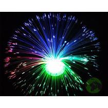 Luminaria Abajur De Fibra Optica 3 Cores 8 Fases Decoracao