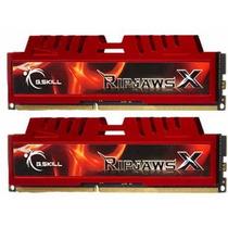 Memória G.skill Ripjaws X Series 8gb (2x4gb) 1600mhz Ddr3