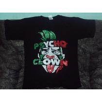 Playera Lucha Libre Psycho Clown Pycho Circus Payaso Talla S