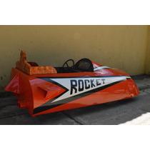 Antiguo Auto Pedal Funcionando Rocket Calesita? Restaurado