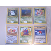 Cartas Pokemon Pokebola Jungla