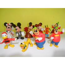 Mickey Mouse Minnie Pluto Pateta Pato Donald Bonecos Disney