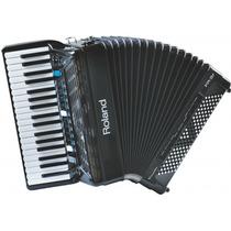 Acordeon Roland Fr-3x V-accordion Digital Preta