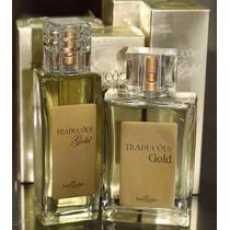 Kit 2 Perfumes Traduções Gold Hinode 47 Opções De Fragrância