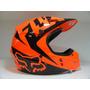 Casco Fox V1 Orange - Bondio Sport