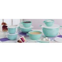 Kit Conj Criativas Verde Tiffany Completo 8 Peças-tupperware