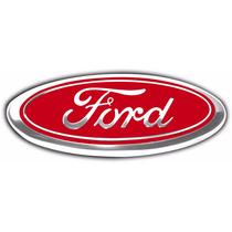 Emblema Ford Vermelho Escort,corcel,belina,del Rey E Pampa.