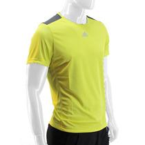Remera Adidas Climalite Amarillo Fluo