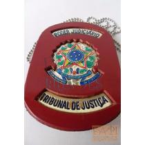 Distintivo De Pescoço Tribunal De Justiça Poder Judiciário