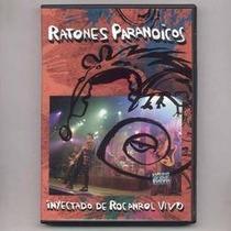 Ratones Paranoicos Inyectado De Rocanrol En Vivo Dvd Nuevo
