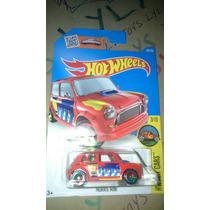Hot Wheels Mini Morris Rojo Hw Art Cars 2016 Lyly Toys