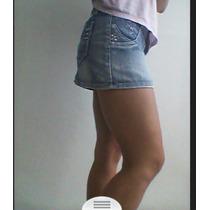 Lindas Mini Faldasde Jeans 30cms Talla S