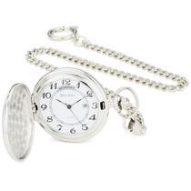 Bucasi Pw1000ss Reloj Bolsillo Con Cana Números Fáciles Le