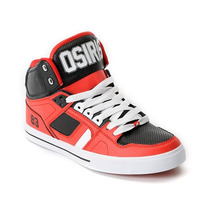 Osiris Nyc 83 Vulc Baller Series Red Shoe