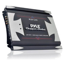 Pyle Pla2200 2 Canales 1400 Vatios Amplificador Puenteable M