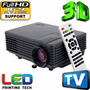Mini Proyector Led 1080p Hd, 1800 Lumenes,103¨, Soporta 3d<br><strong class='ch-price reputation-tooltip-price'>$ 119.990</strong>