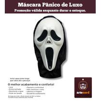 Máscara Halloween Fantasia - Pânico De Luxo
