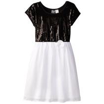 Vestido De Fiesta Para Niña Talla 7-8
