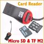 Lector Tarjetas ( Card Reader) Micro Sd Usb 2.0 (silbato) 1