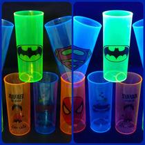 Kit 200 Copos Long Drink Neon Personalizados Menor Preço