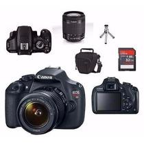 Câmera Canon T5 Eos Rebel Kit 18-55mm Promoção