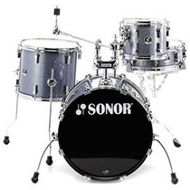 Sonor Bateria Negro Galaxy Sparkle Sse 13 Players