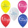Globos Para Decorar Fiestas De Feliz Cumpleaños 6 Unidades
