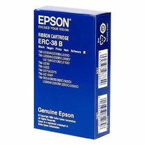 Cinta Original Epson Erc-38b Negra Para Impresoras Tmu