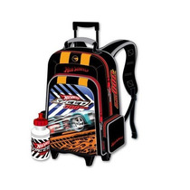 Morral Pequeño Con Ruedas Y Cooler Hot Wheels Original