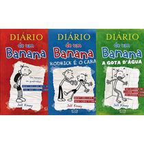 Diário De Um Banana Volumes 1, 2 E 3 - Capa Dura