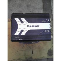 Planta De Sonido Para Vehiculo Tomahawk 1200 W- 4 Canales