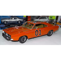1:18 Dodge Charger R/t 1969 General Lee Auto World Dukes