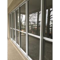 Porta De Correr Alumínio Branco E Vidro