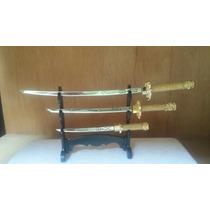 Espadas De Samurai Trio Promoção