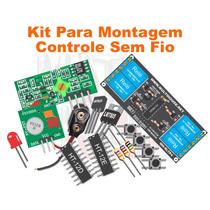 Kit Eletronica - Controle Sem Fio De 4 Canais