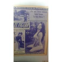 Periódico Antiguo El Figaro Sasha Montenegro 1972